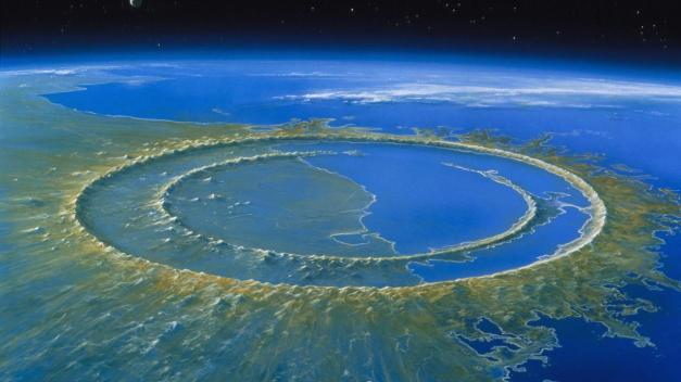 Meteor impact after
